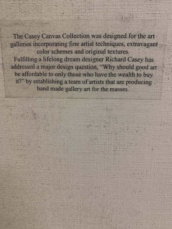 Richard Casey Textured Art