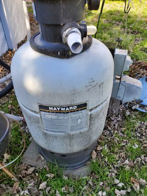 Hayward pool filter and motor for Sale in NJ, US