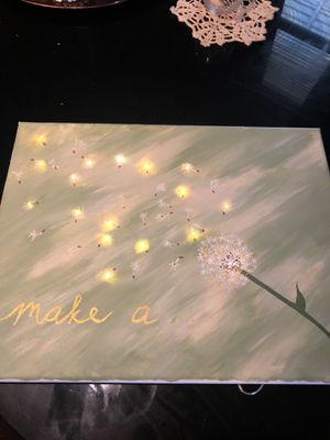 11x14 Lighted painting for Sale in Baltimore, MD