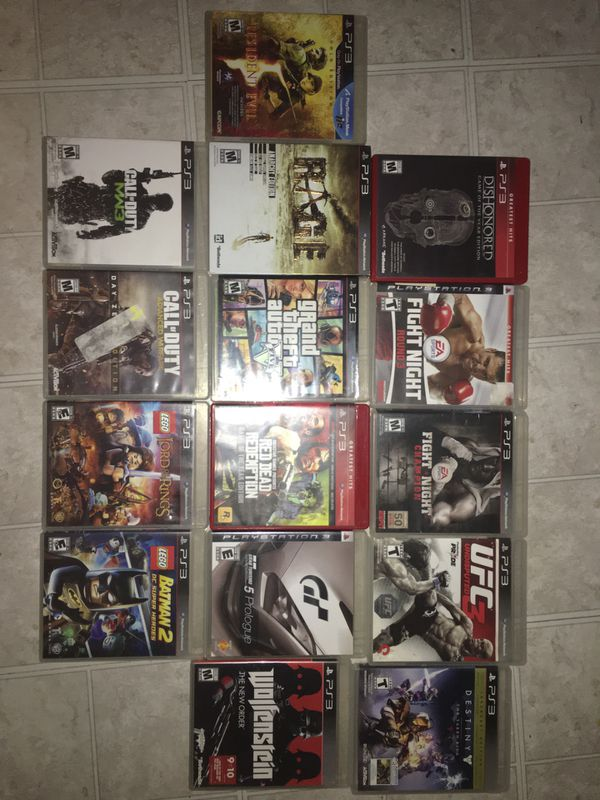 PlayStation 3 Game Lot PS3