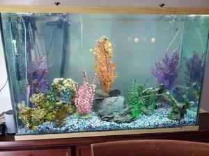 125 gallon fish tank with many extra items for Sale in Alexandria, VA