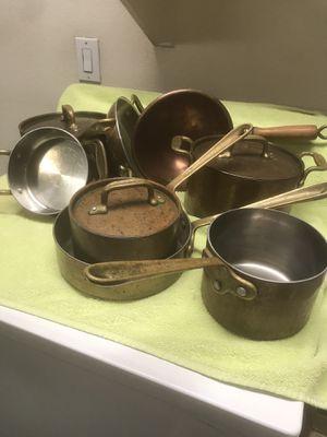 Copper pots and pans for Sale in Avondale, AZ