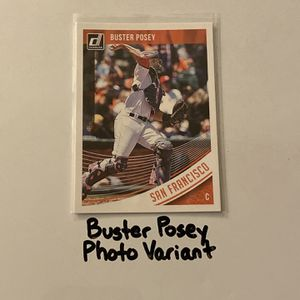Buster Posey San Francisco Giants All Star Catcher Short Print Photo Variant Insert Card. for Sale in San Jose, CA