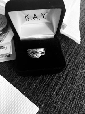 14k wedding- engagement rings with diamonds for Sale in Arlington Heights, IL