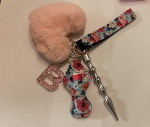 Pompom custom self defense keychain for Sale in Wichita, KS