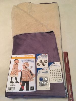 Daisy Kingdom Child's Coat Kit. From a non smoking home. for Sale for sale  Jackson, MI
