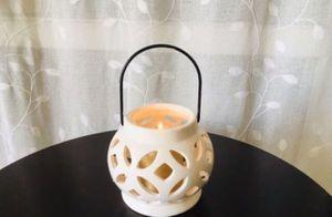 Ceramic Candle Lantern for Sale in El Paso, TX