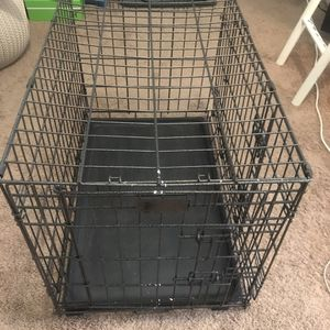 "Double Door Folding Dog Crate (30"", 22"", 19"") for Sale in Salt Lake City, UT"