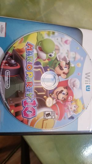 Mario Party 10 Wii U for Sale in Austin, TX