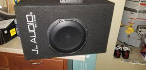 10 in JL audio with built in subwoofer. for Sale in Stockton, CA