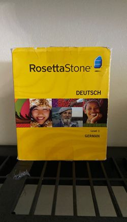 Rosetta Stone German level one version three CD ROM personal edition for Sale in South Jordan,  UT