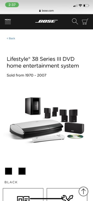 Bose Lifestyle 38 Series III speaker system for Sale in Cypress, CA