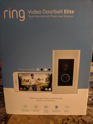 Ring Video Doorbell Elite for Sale in Phoenix, AZ