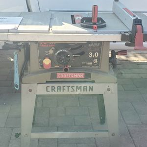 Craftsman 10in. Table Saw for Sale in Lakeside, CA