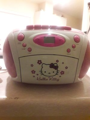 Hello Kitty CD PLAYER/ AM&FM Radio for Sale in North Las Vegas, NV
