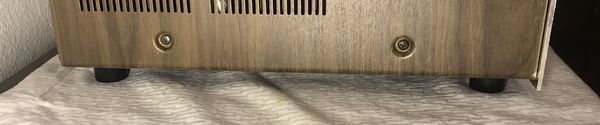 MARANTZ CHASSIS FEET W Screws 2215-2245-2270-2325, 2330, 2385. 4 Feet & 4 Screws