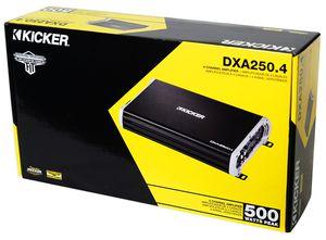 KICKER DXA250.4 (43DXA2504) DX-Series Full Range 4 Channel Amplifier for Sale in Orlando, FL
