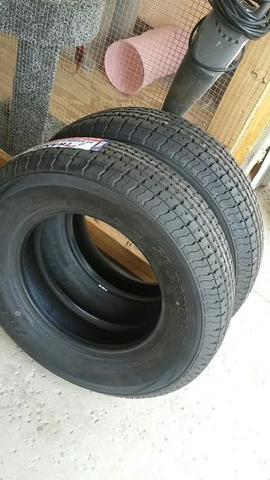 4 new trailer tires 225/75/15..10 plys..load E for Sale in Palmdale, CA