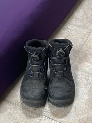 Work boots w/ metal shoe laces size 11.5 wide for Sale in Temecula, CA