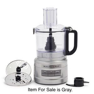 KitchenAid Food Processor. New Never Used in Box / Gray for Sale in Oakland Park, FL