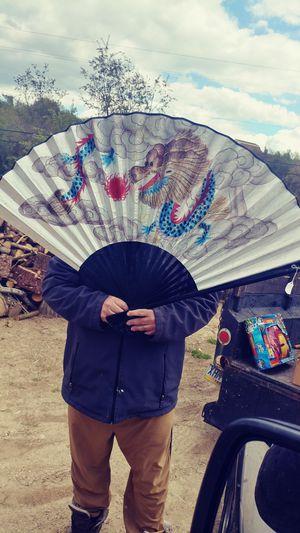 Large oriental fan for Sale in NO HUNTINGDON, PA
