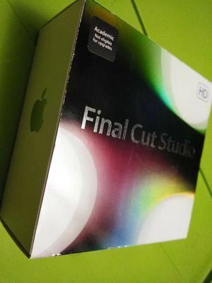 Final Cut Studio Pro 7 - academic edition for Sale in Tempe, AZ