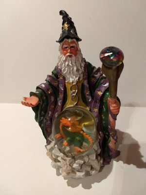 Statue Collectables...Figurine Collector - Wizard detailed ceramic for Sale in Tempe, AZ