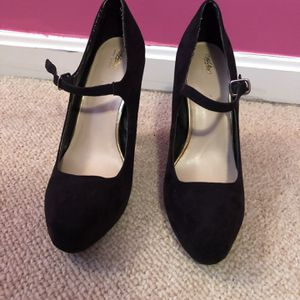 Mossimo Mary Janes Heels (Pumps with Strap) for Sale in Nokesville, VA