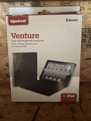 Hipstreet Bluetooth Venture Case with Keyboard for iPad 2nd + 3rd generation for Sale in St. Louis, MO