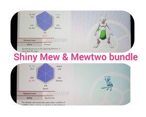 Shiny Mew & Mewtwo bundle for Sale in Austin, TX