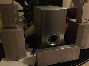 6 piece Pioneers surround sound and subwoofers for Sale in Richmond, VA
