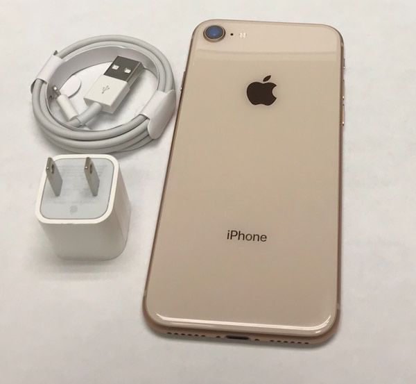 Unlocked iPhone 8 Gold 64gb