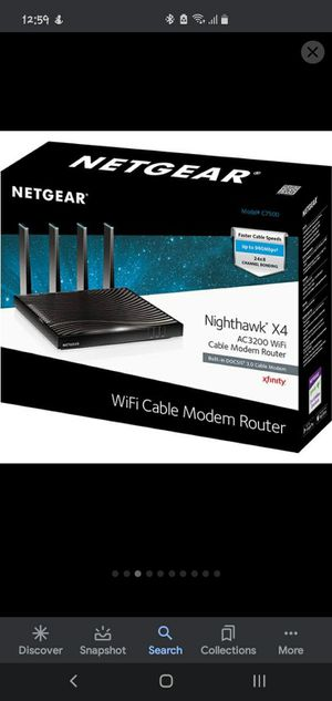 Netgear nighthawk x 4 AC 3200 for Sale in Lakeside, CA
