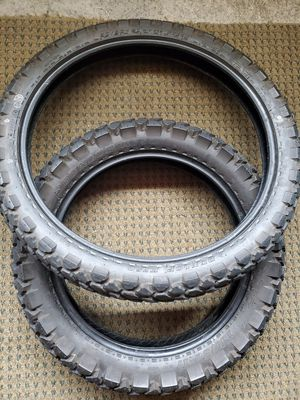 Free motorcycle tires. KLR650 for Sale in Vancouver, WA
