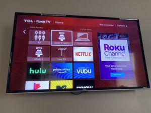TCL 40FS3800 40-Inch 1080p Roku Smart LED TV for Sale in Atlanta, GA