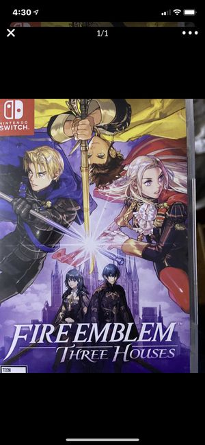Nintendo switch fire emblem three Houses for Sale in Wildomar, CA