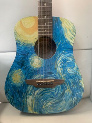 90 steal 75 % off Luna guitar Starry Night Guitar for Sale in Los Angeles, CA
