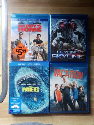 Blue ray movies for Sale in Metamora, IL