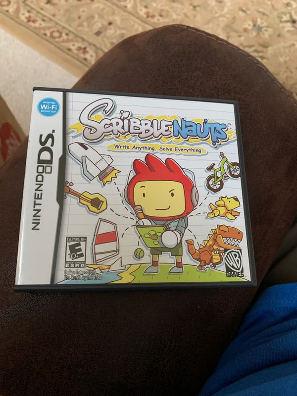 Nintendo DS - scribble Nauts - Write Anything Solve Everything