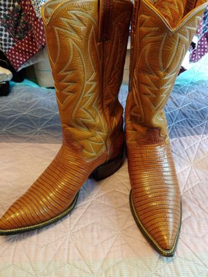 Justin ostrich boots for Sale in Keizer, OR