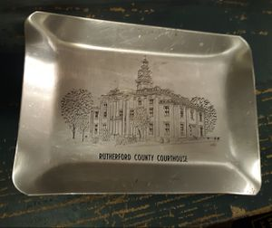 Rutherford County Courthouse Antique Coin Tray for Sale in Murfreesboro, TN