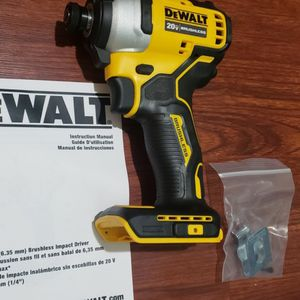 Dewalt Brushless Impact Drill 20v Tool Only for Sale in Laurel, MD
