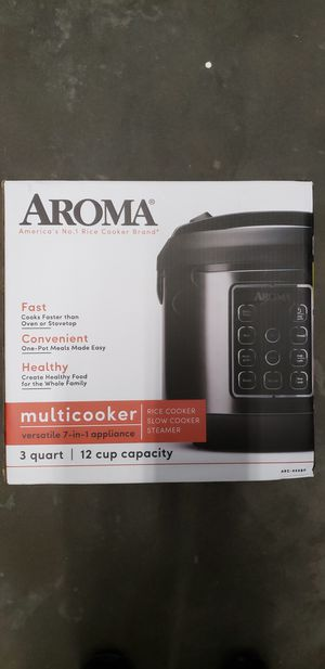 Aroma Multi Cooker for Sale in Woodway, TX