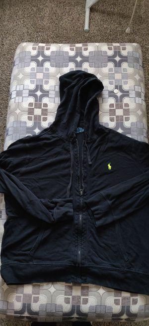 (Men) (XXL) Polo Hoodie Jacket for Sale in Pontiac, MI