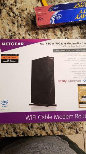 Netgear AC1750 Wifi Cable Modem Router for Sale in Phoenix, AZ