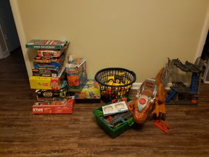 Lot of toys,games tracks,puzzles.... for Sale in Sanford, NC