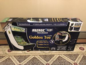 arcade1 up Golden tee for Sale in Swansea, MA