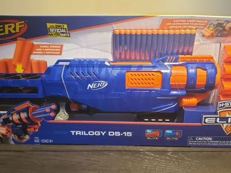 Nerf Elite Trilogy DS-15 Gun Brand New!! for Sale in Charles Town,  WV