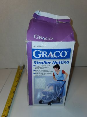 NEW Graco Stroller Netting ~ Standard Size ~ Cover ~ for Sale in Montgomery, TX
