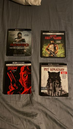 Brand New 4K Movies for Sale in Redwood City, CA